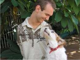 Nick Vujicic y su Mascota